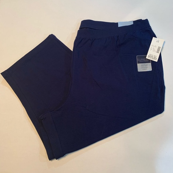 Catherines Pants - Catherines Women's Suprema Cotton Capris!  BNWT!!